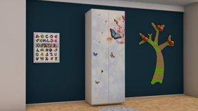 Imaginea Dulap 2 usi Butterfly