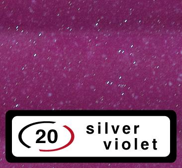 20-silver violet